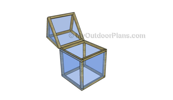 Diy mini greenhouse plans