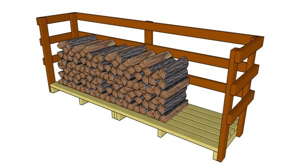 9 Free Firewood Storage Shed Plans | Free Garden Plans ...