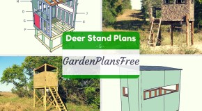 5 Free Deer Stand Plans