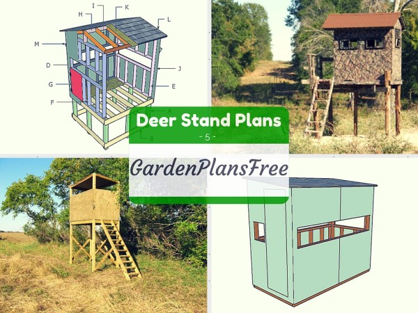 8 Free Deer Stand Plans | Free Garden