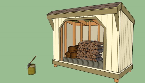16 Free Firewood Storage Shed Plans Free Garden Plans