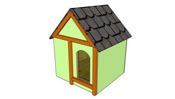 Insulatting-dog-house-plans
