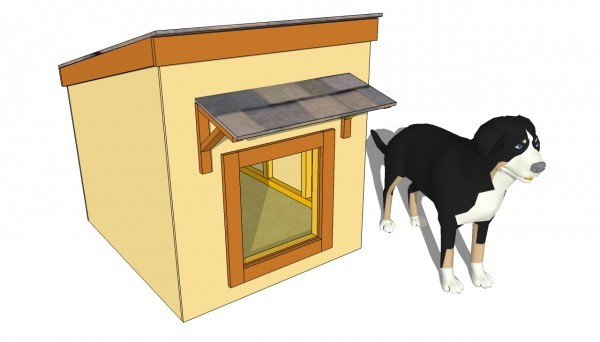 Large-dog-house-plans
