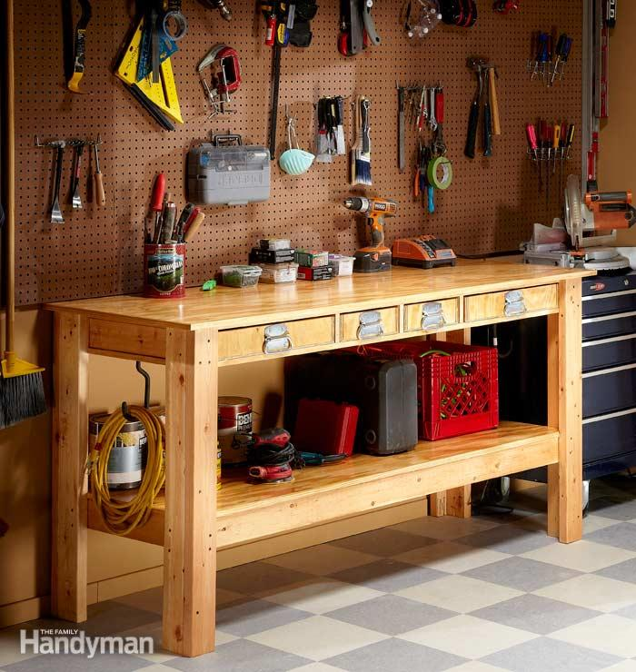 No Frills Workbench 4 Steps With Pictures: Free Garden Plans - How To Build