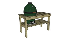Large Big Green Egg Plans