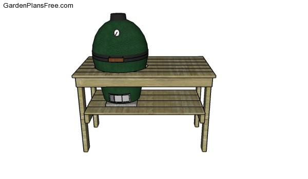 Large Big Green Egg Plans Free Garden Plans How To Build
