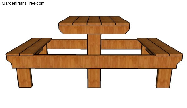 2 person picnic table plans