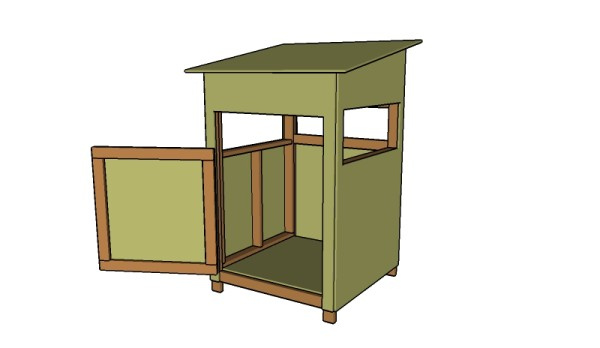 4x4 deer stand plans free garden plans how to build