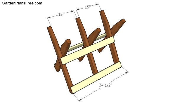 Assembling the sawbuck