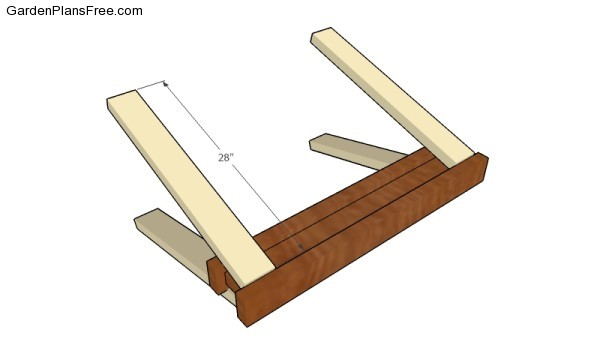 Wooden Sawhorse Plans | Free Garden Plans - How to build garden projects