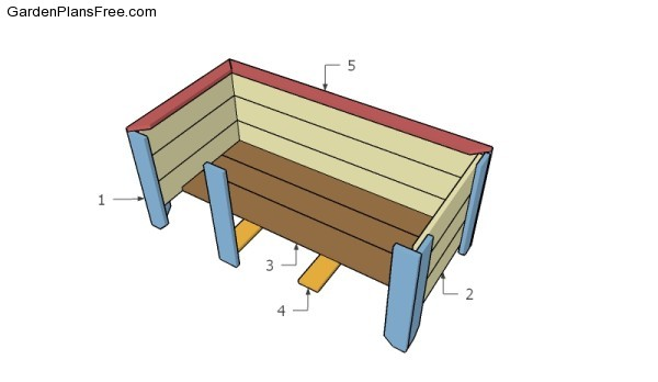Building a large planter box