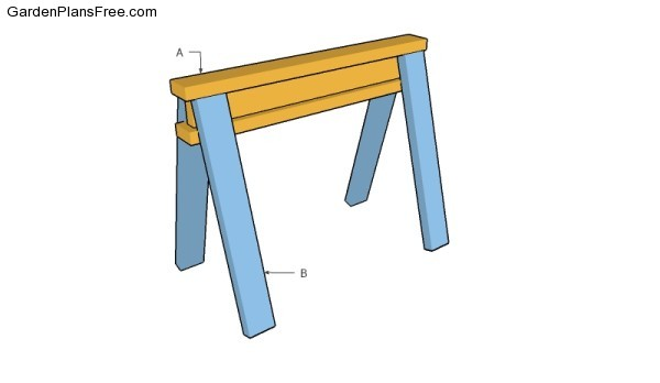 Wooden Sawhorse Plans Free Garden Plans How To Build Garden Projects