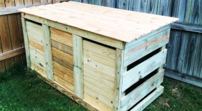 DIY 3 Bin Compost