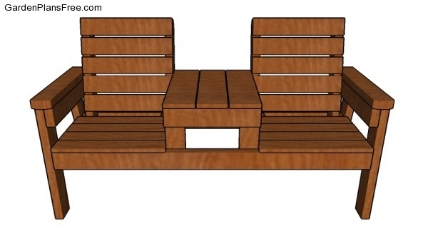 Fabulous Double Chair Bench Plans Free Garden Plans How To Build Caraccident5 Cool Chair Designs And Ideas Caraccident5Info