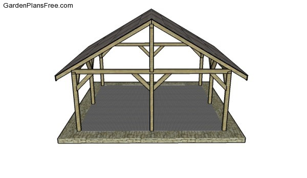 Outdoor Shelter Plans : Outdoor shelter plans free garden how to build
