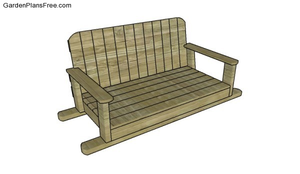 Swing Bench Plans Free Garden Plans How To Build