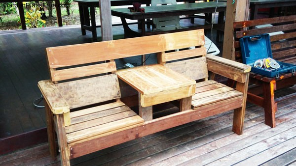 DIY-Double-Chair-Bench