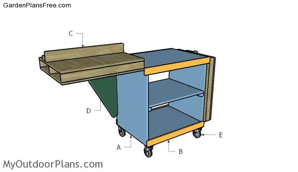 Building-a-miter-saw-stand
