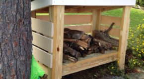 DIY Firewood Shed