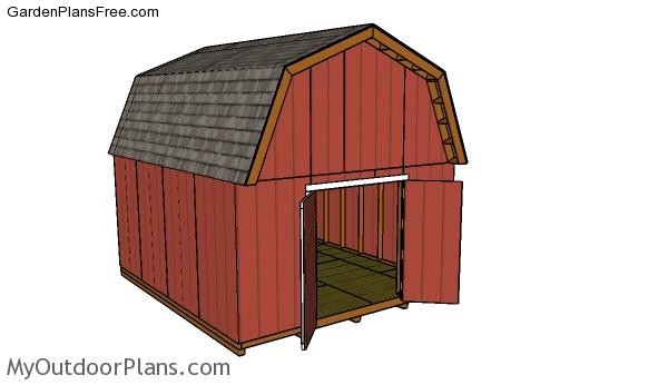 14x16-gambrel-shed-plans