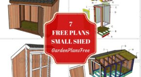 7 Free Small Garden Shed Plans
