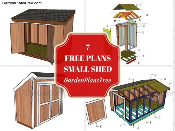 13 Free Small Garden Shed Plans Free Garden Plans How To Build Garden Projects