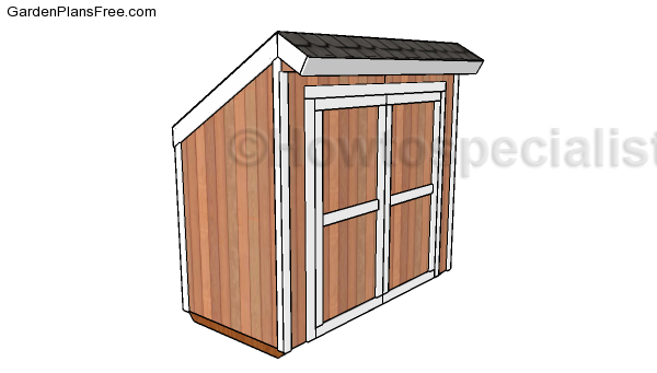 Lean-to-Storage-Shed-Plans