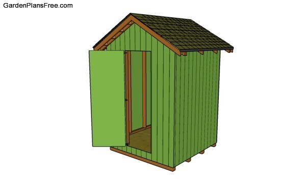 13 Free Small Garden Shed Plans