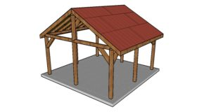 16×16 Pavilion – Free DIY Plans