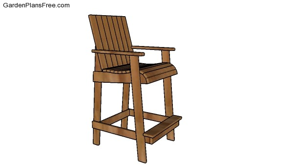 how to make adirondack chairs plans