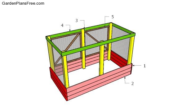 Building a deer proof garden bed