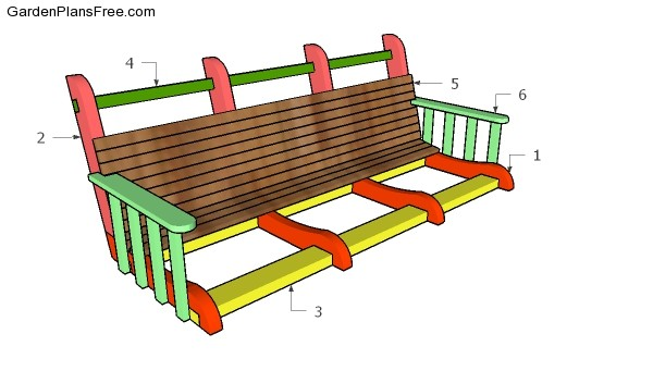Ana white shanty2chic porch swing diy projects autos post for Shanty 2 chic porch swing