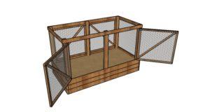 Deer Proof Raised Garden Bed – Free DIY Plans