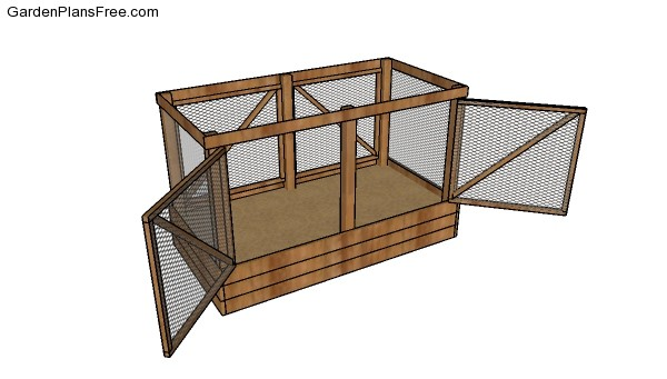 DIY Deer Proof Raised Garden Bed Plans