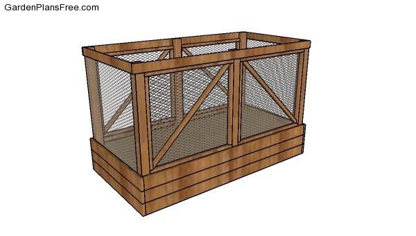 Deer Proof Raised Garden Bed Free Diy Plans Free