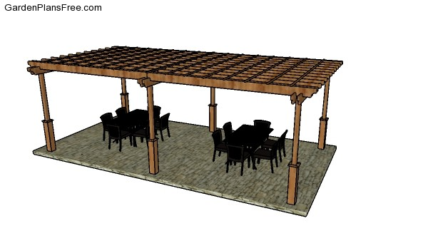 How to build a 12x24 pergola