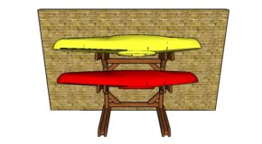 Wooden Kayak Rack – Free DIY Plans