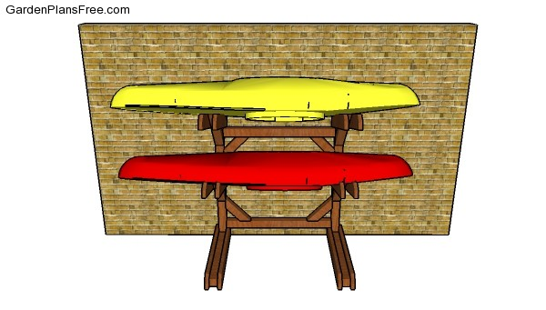 Kayak Rack Building Plans
