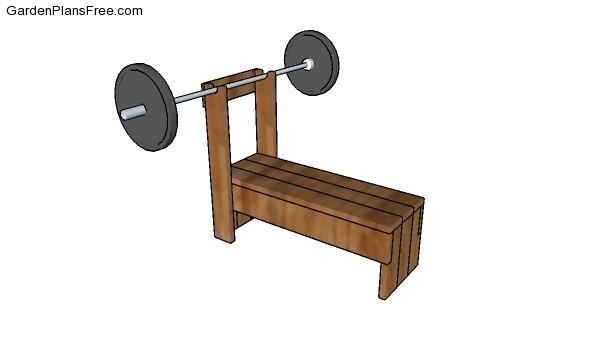 Wooden Weight Bench Free Diy Plans Free Garden Plans