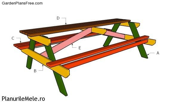 diy picnic table plans metric free garden plans how to build