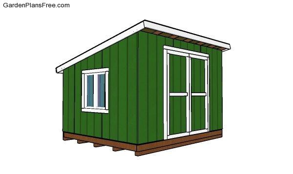 10x12 Lean To Shed Plans Pdf Download Free Garden Plans