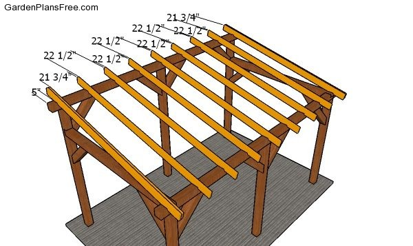 Lean To Carport Plans Free Diy Download Free Garden Plans How To Build Garden Projects