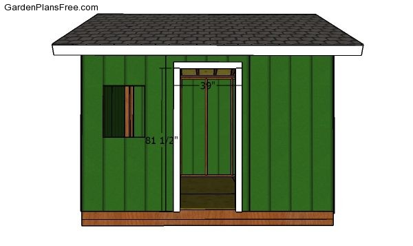 12x12 Shed Plans Gable Shed Free Garden Plans How To Build Garden Projects