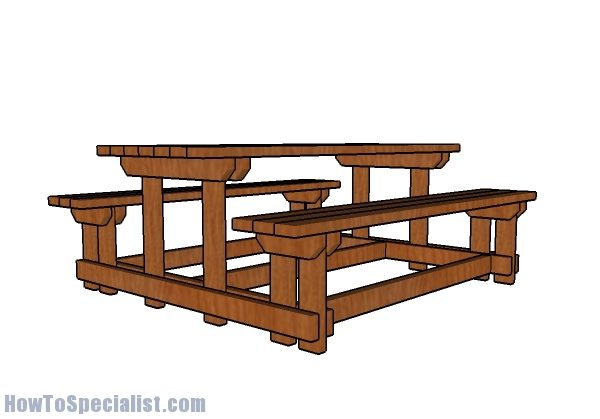 Astonishing 20 Absolutely Free Picnic Table Plans For Your Garden Free Andrewgaddart Wooden Chair Designs For Living Room Andrewgaddartcom