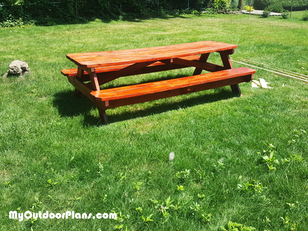 Surprising 20 Absolutely Free Picnic Table Plans For Your Garden Free Andrewgaddart Wooden Chair Designs For Living Room Andrewgaddartcom