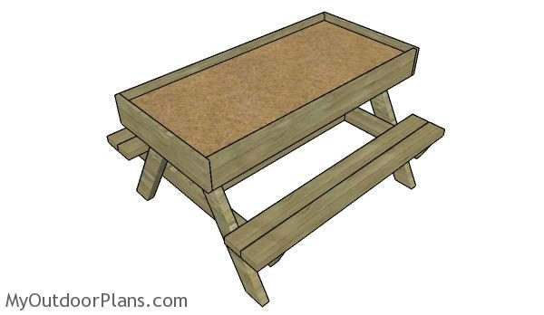 20 Absolutely Free Picnic Table Plans For Your Garden How To Build Projects