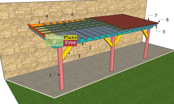 Patio Cover Plans Pdf, Plans For Patio Cover